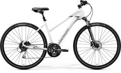 Rower MERIDA Crossway 100 Lady - MATT WHITE (GREY) - 2020