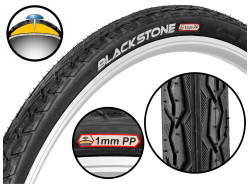 Opona BLACKSTONE 28x1.75 (47-622) O191 + 1mm PP