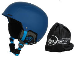Kask Narciarski Blizzard Guide  - blue matt (deep blue/bright blue) + pokrowiec
