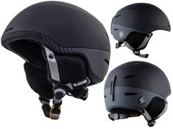 Kask narciarski BLIZZARD SPEED black/grey matt