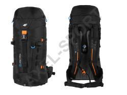 6e8b419dff593 Plecak turystyczny trekkingowy 4F C4L15 PCT003 - czarny 40 litrów